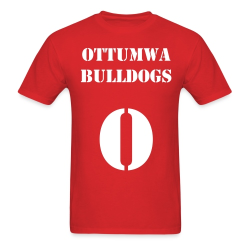 Ottumwa Stencil - Men's T-Shirt