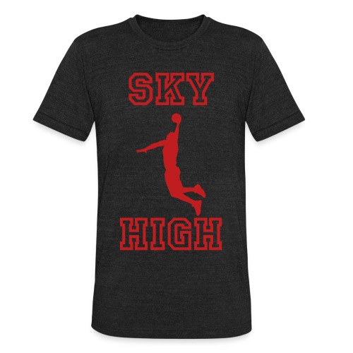 sky high - Unisex Tri-Blend T-Shirt