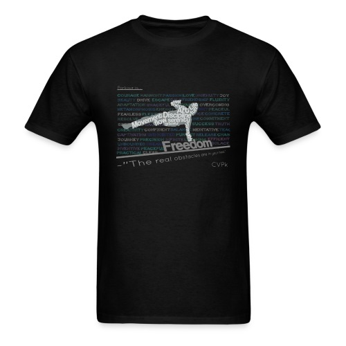 Inverted Freedom - Men's T-Shirt