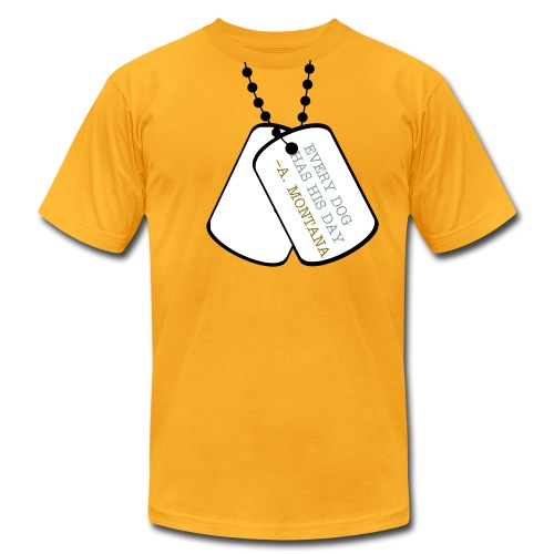Dog Tag - Men's Fine Jersey T-Shirt