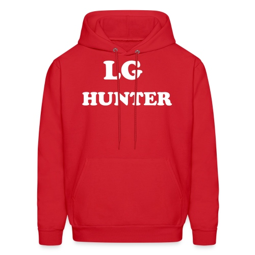 LG hunter All Day Every Day Hoodie (Red) - Men's Hoodie