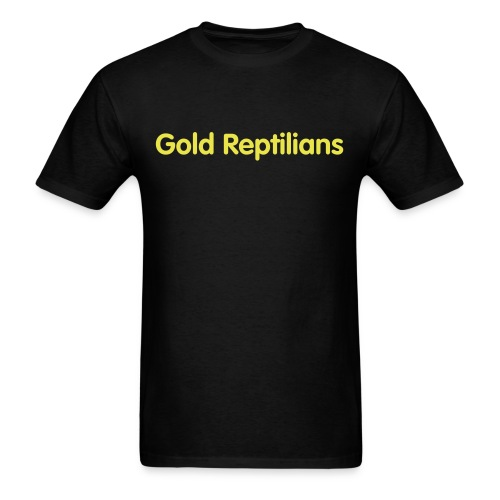 Gold Reptilians Original Tee - Men's T-Shirt