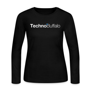 TechnoBuffalo Long Sleeve Gals (Black) - Women's Long Sleeve Jersey T-Shirt