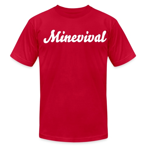 Minevival's first shirt - Men's  Jersey T-Shirt