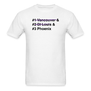 2012 Western Conference Finals - Men's - Men's T-Shirt