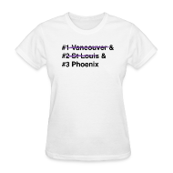 Women's T-Shirts ~ Women's T-Shirt ~ 2012 Western Conference Finals - Women's