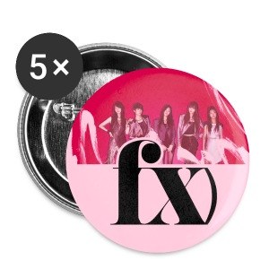 [F(X)] f(x) Pins - Large Buttons