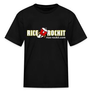 Kid's Rice Rockit Logo Shirt - Kids' T-Shirt