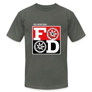 Mens Rice Rockit Food Shirt - Men's Fine Jersey T-Shirt