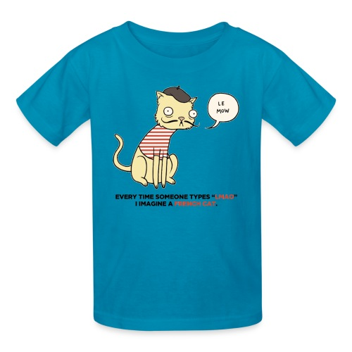 French Cat - Kids' T-Shirt