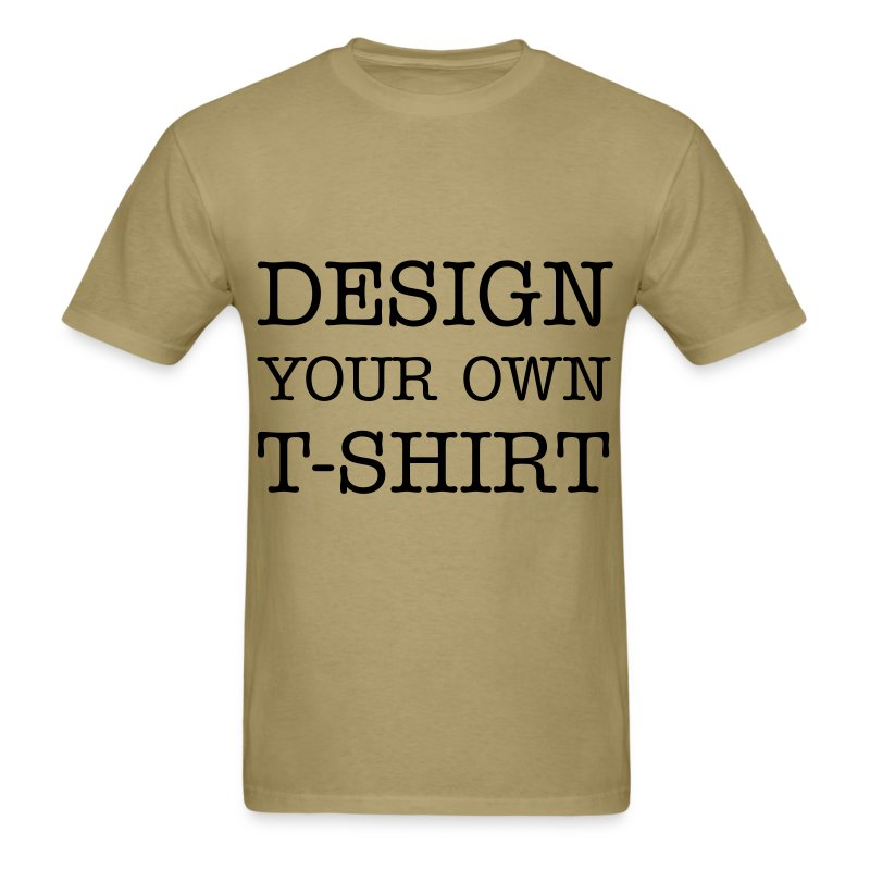 Design your own t shirt t shirt spreadshirt for Print my own t shirt design