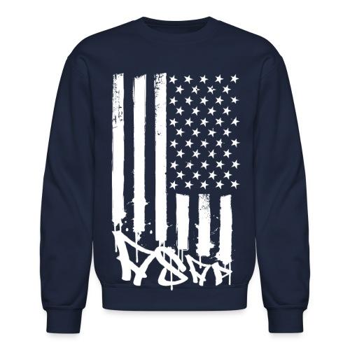 A$AP Flag ··· Nvy - Crewneck Sweatshirt