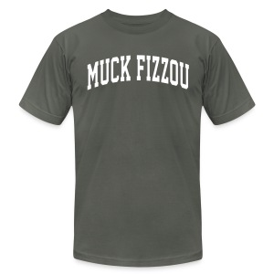 South Carolina says Muck Fizzou - Men's T-Shirt by American Apparel