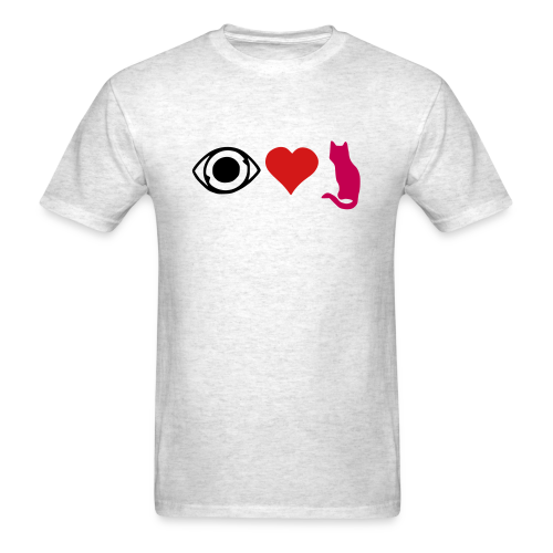 magenta cat - Men's T-Shirt