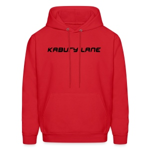 Kabury Lane hooded sweatshirt - red - Men's Hoodie