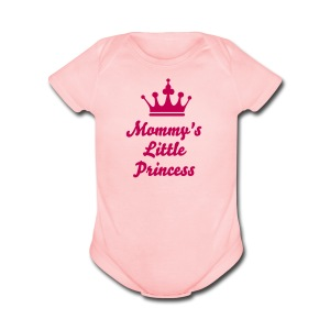 Mommy's Little Princess Baby One-Piece - Short Sleeve Baby Bodysuit