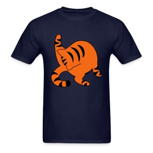 Orange Tabby - Men's T-Shirt
