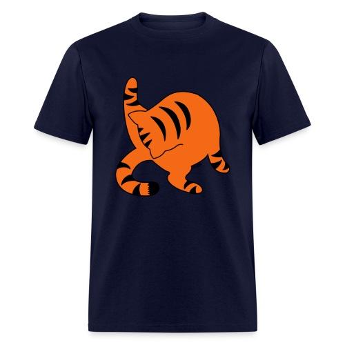 Orange Tabby - Men's T-Shirt