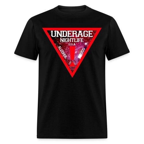 GALAXY NIGHTLIFE SHIRT - Men's T-Shirt