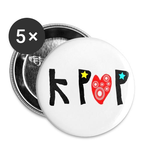 Kpop Button Pin - Small Buttons