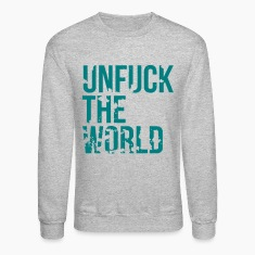 unfuck the world Long Sleeve Shirts