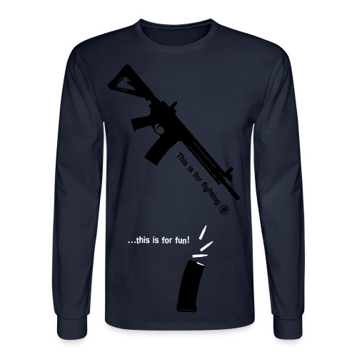 This Is For Fun - Men's Long Sleeve T-Shirt