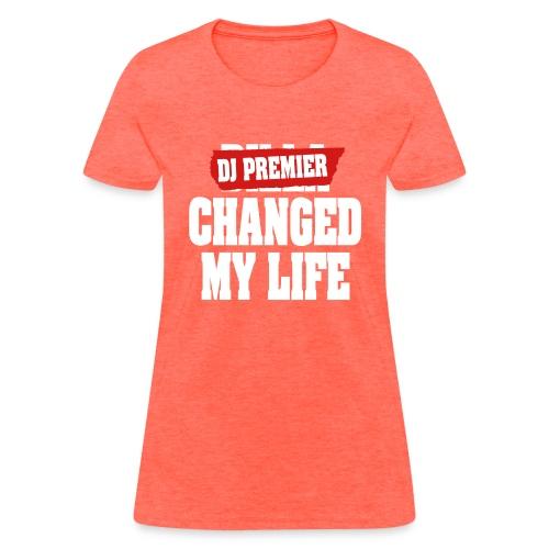 DJ Premier Tribute Women's T Shirt - Women's T-Shirt