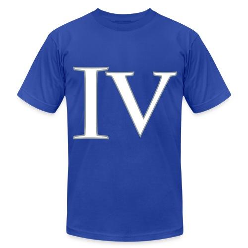 4 blues - Men's  Jersey T-Shirt