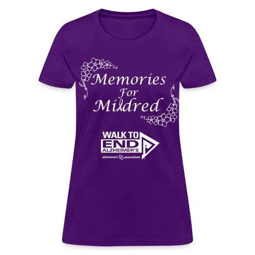 Memories For Mildred Womens - Women's T-Shirt