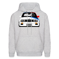 Hoodies ~ Men's Hoodie ~ Classic Racer: DTM E30 M3 Hooded Sweatshirt
