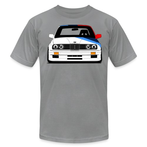 Classic Racer: DTM E30 M3 Short Sleeve - Men's T-Shirt by American Apparel