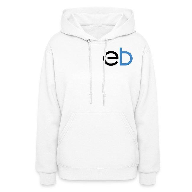 Classic EB Hoodie (White) - Women's