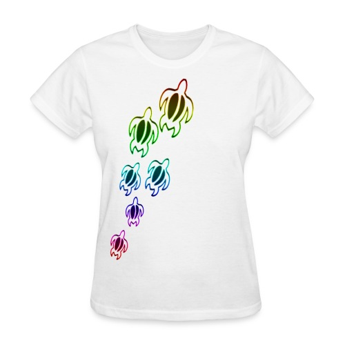 Rainbow Turtles women - Women's T-Shirt