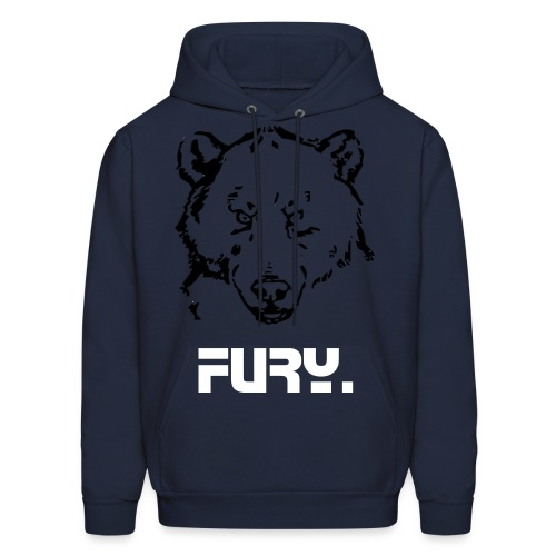 Grizzly Winter  - Men's Hoodie