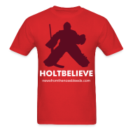 T-Shirts ~ Men's T-Shirt ~ Holtbelieve - Red