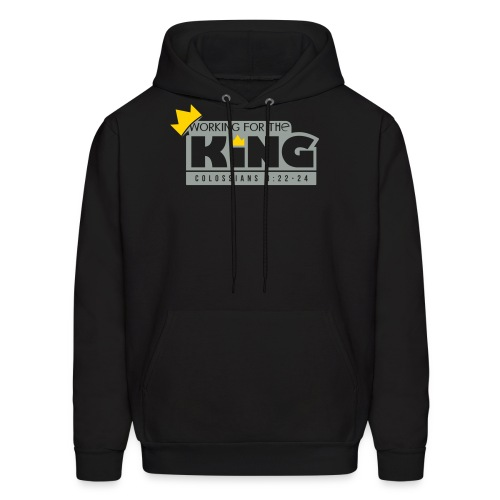 Working For The King - Men's Hoodie