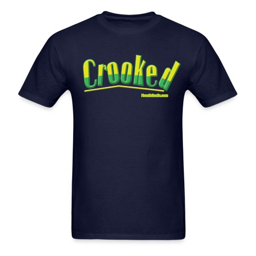 Crooked - Men's T-Shirt