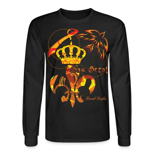 San Greal - Men's Long Sleeve T-Shirt