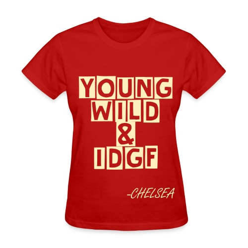 IDGAF - Women's T-Shirt