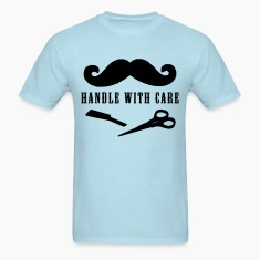 moustache handle with care T-Shirts