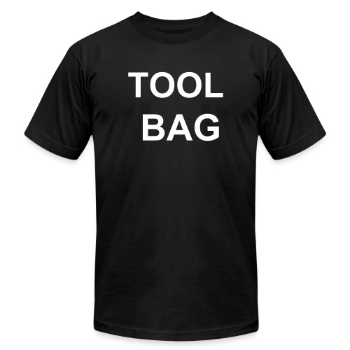 Tool Bag (two sided) - Men's Fine Jersey T-Shirt