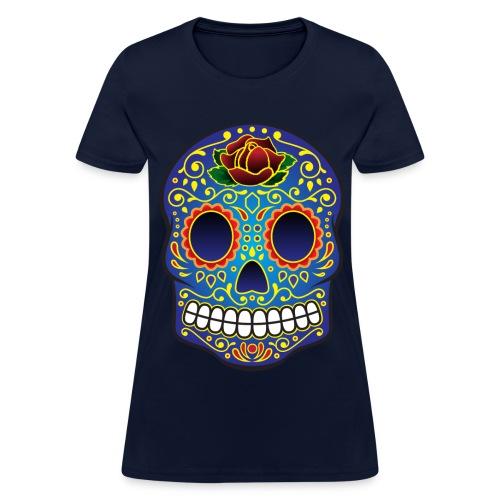 Sugar Skull - Women's T-Shirt