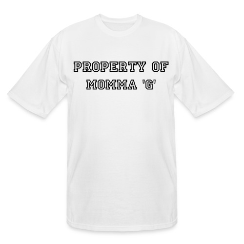 Property Of Momma 'G' Tee - Men's Tall T-Shirt