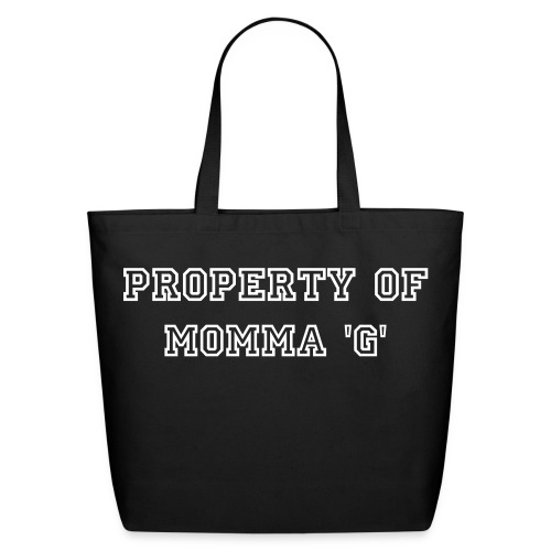 Property Of Momma 'G' Tee - Eco-Friendly Cotton Tote
