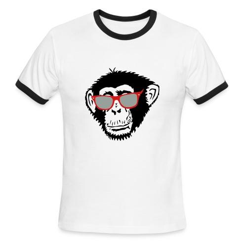 Cool Monkey Tee - Men's Ringer T-Shirt