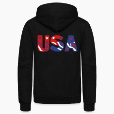 USA (3c) Zip Hoodies/Jackets