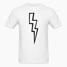 Lightning Bolt - High Quality Vector T-Shirts