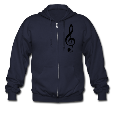 Music - High Quality Vector Zip Hoodies/Jackets