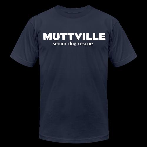 Men's Muttville Any Color tee - white logo - Men's  Jersey T-Shirt