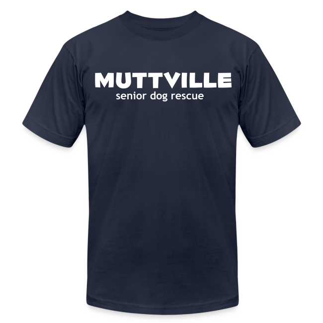 Men's Muttville Any Color tee - white logo